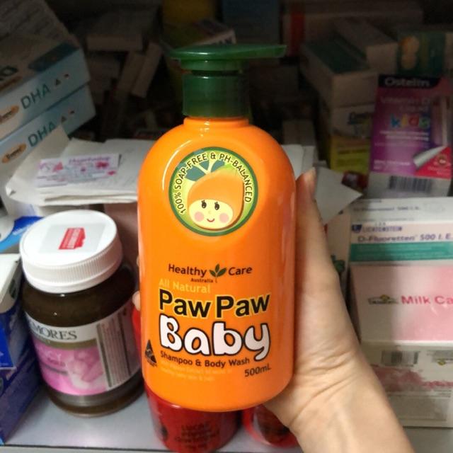 Sữa tắm gội Healthy Care All Natural Paw Paw Baby 500ml của Úc - 14571116 , 1127731518 , 322_1127731518 , 299000 , Sua-tam-goi-Healthy-Care-All-Natural-Paw-Paw-Baby-500ml-cua-Uc-322_1127731518 , shopee.vn , Sữa tắm gội Healthy Care All Natural Paw Paw Baby 500ml của Úc