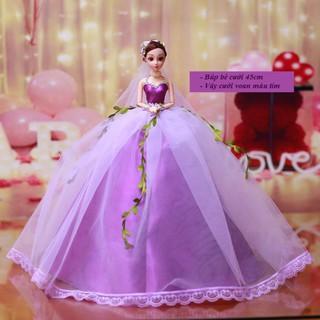 Búp bê cưới đầm voal quyến rũ