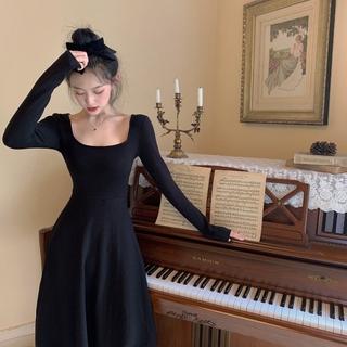 (CÓ SẴN CAM) Váy dài dáng ôm cổ điển – YHRJ