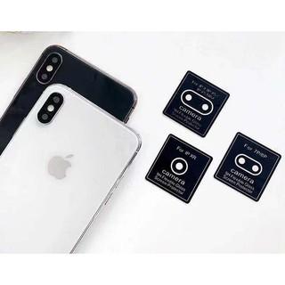 [Mã ELCB07 hoàn 15% xu đơn 99k] Miếng dán bảo vệ camera sau dành cho IPHONE XR XS MAX X 6/ 6S 7 8 11 PRO MAX