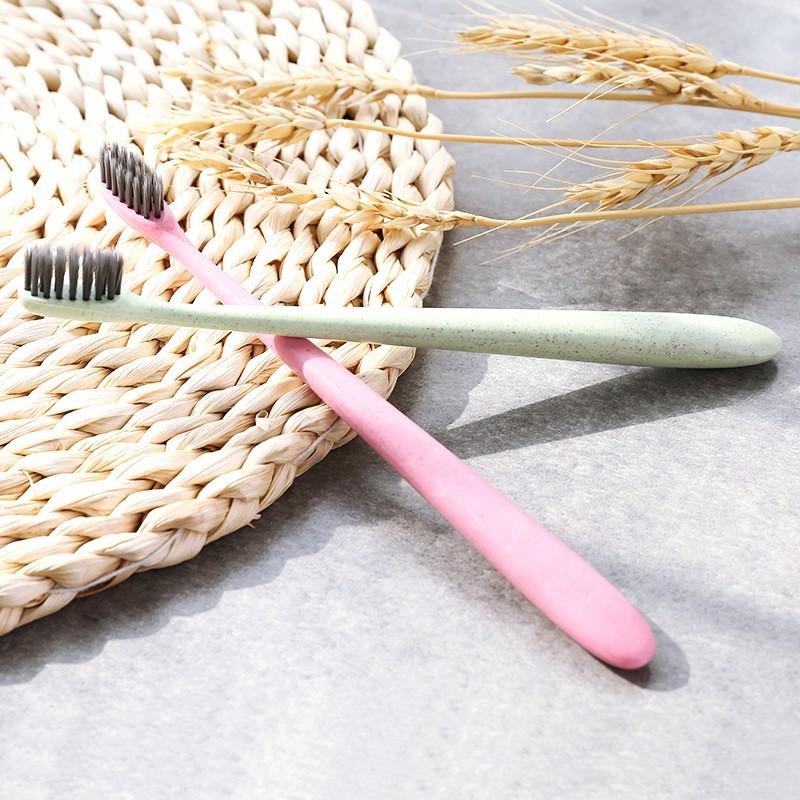 Bàn chải đánh răng làm từ than tre hoạt tính và lúa mạch 2254