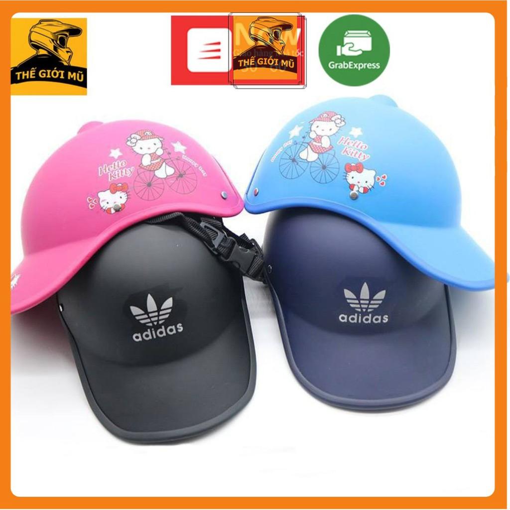 Mũ bảo hiểm thời trang NAM NỮ nửa đầu giá rẻ, nhiều màu sắc, vi vu dạo phố