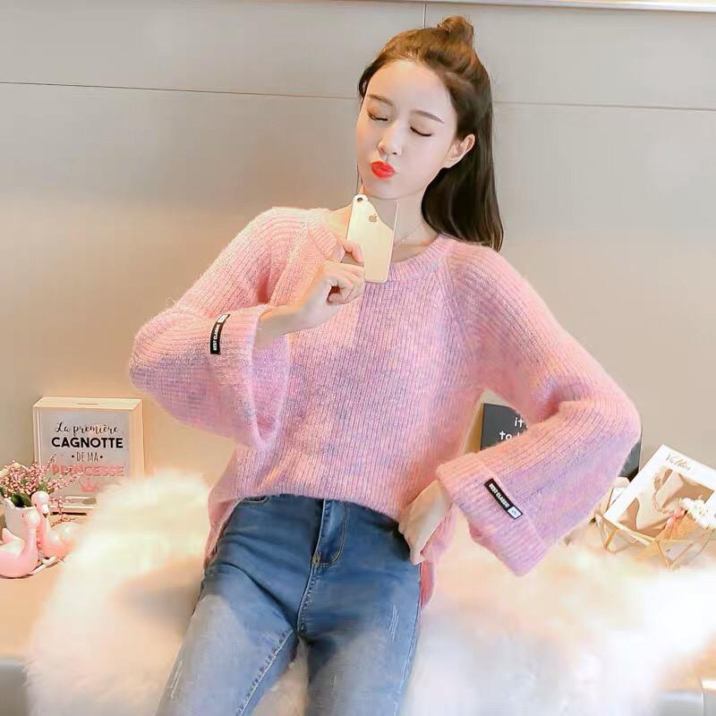 áo len dáng rộng mẫu mới 2019(Có video-ảnh thật)