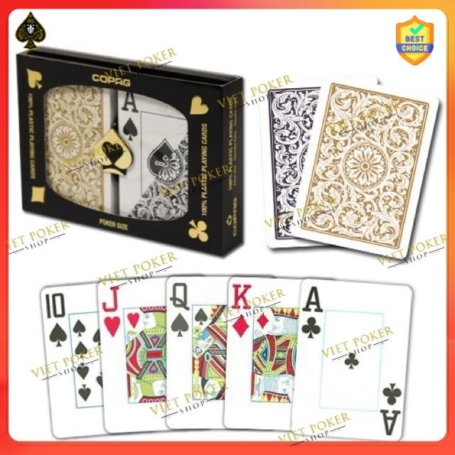 Bài nhựa Copag 1546 – Bài tây Poker – Plastic Playing Cards chống nước hoàn hảo