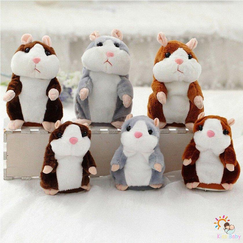 Chuột Hamster Nhồi Bông Biết Nói Dễ Thương