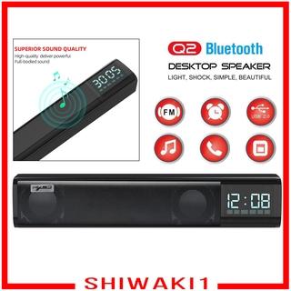 Loa Bluetooth 3d Shiwaki1 Âm Thanh Nổi Hỗ Trợ Tf Usb Aux Fm