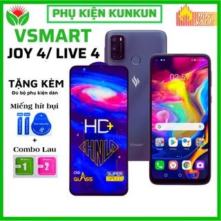 [Loại mới] Kính cường lực Vsmart Joy 4 Live 4 - Phủ Nano cao cấp -Full màn hình -Độ cứng 11H-Độ trong suốt cực cao HD+ thumbnail