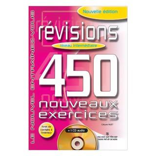 Sách - 450 Révisions Niveau Intermédiare ( Không kèm CD)