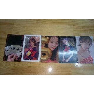 Card Twice ( Tzuyu Mina Dahuyn Jihyo)