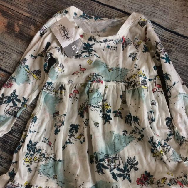 Váy đầm cotton Crazy8 VNXK, 2-3Y