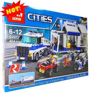 Bộ Lego Xếp Hình Ninjago City Super Container Police. Có 404 Chi Tiết. Lego Ninjago Lắp Ráp Đồ Chơi Cho Bé