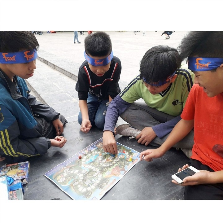 [KHÔNG HAY TRẢ TIỀN] Board game-Đi tìm kho báu mini 3 Foxi-nâng cao khả năng xử lí tình huống-tranh luận-logic