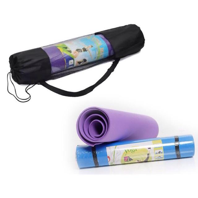 Thảm tập yoga loại xịn dày (có túi tặng kèm)