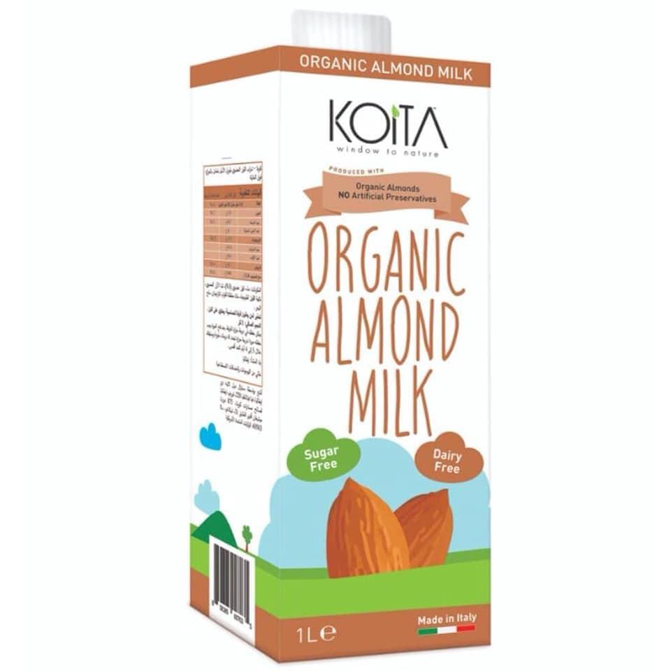 Sữa hạnh nhân hữu cơ Koita (1 lít)
