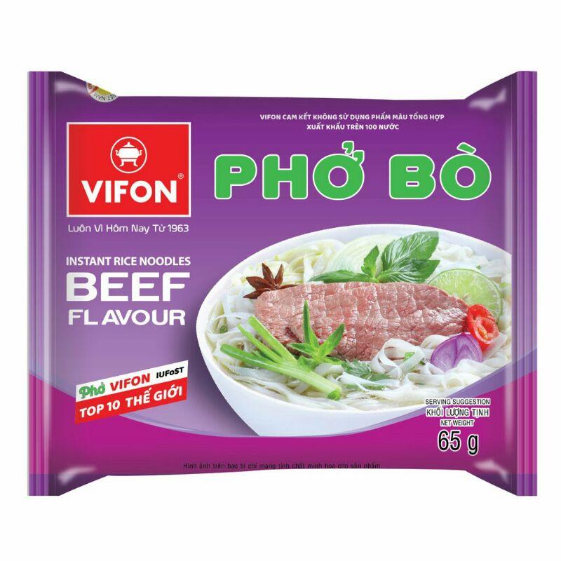 5 gói Phở bò Vifon 65g