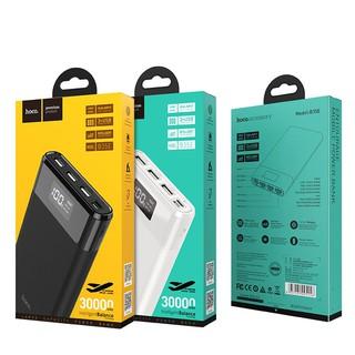 Pin sạc dự phòng Hoco B35E 30000mAh (3 cổng sạc, 2 cổng input)