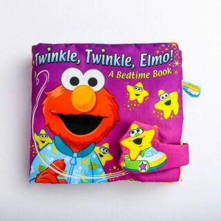 Sách vải Fisher Price mẫu Twinke Twinke Elmo