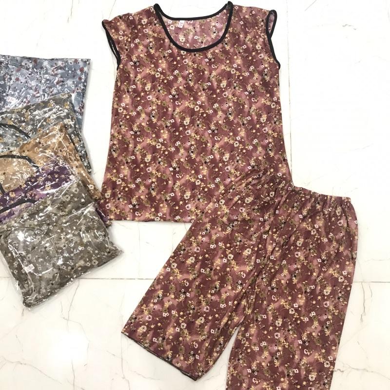 Đồ Bộ thun lạnh quần lở sz 53-60kg - giá rẻ