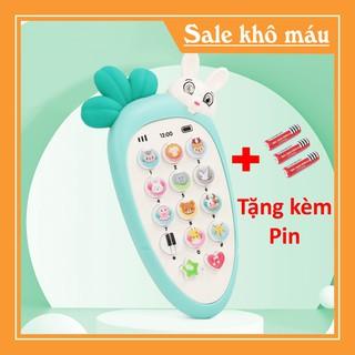 [ FREESHIP ] Điện thoại đồ chơi phát nhạc cho bé TẶNG KÈM PIN