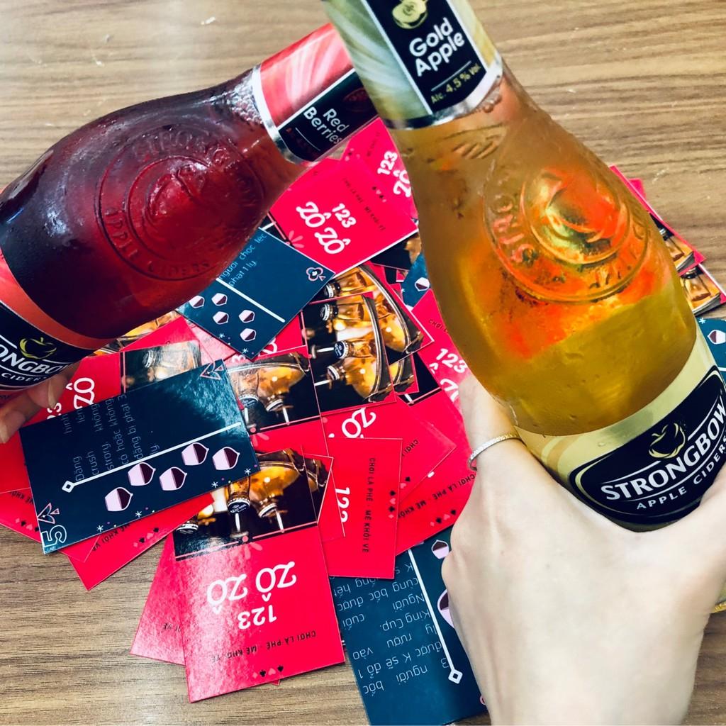Drinking card: Bộ bài châm tiểu + bộ bài phòng the 2 người.