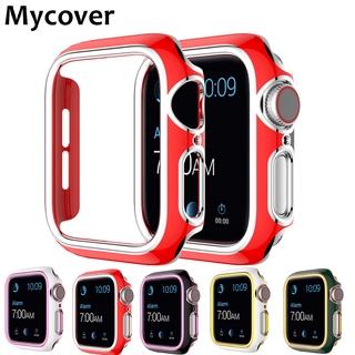 Khung Nhựa Cứng Nhiều Màu Cho Đồng Hồ Thông Minh Apple Watch Series 6 Se 5 4 3 2 1 44mm 40mm 38mm 42mm
