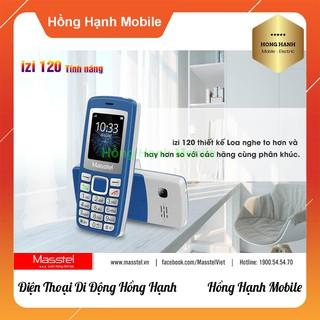 Hình ảnh Điện Thoại Masstel iZi 120 - Hàng Chính Hãng - Hồng Hạnh Mobile-5