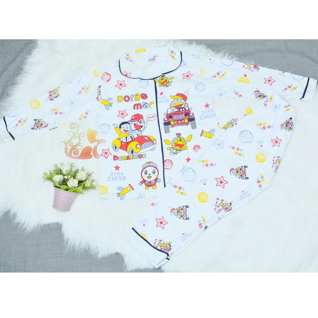 """Đồ bộ Pijama Kate - """" Doremon """" cho bé """"Siêu Cute"""" Đồ mặc nhà - 3397663 , 846039578 , 322_846039578 , 100000 , Do-bo-Pijama-Kate-Doremon-cho-be-Sieu-Cute-Do-mac-nha-322_846039578 , shopee.vn , Đồ bộ Pijama Kate - """" Doremon """" cho bé """"Siêu Cute"""" Đồ mặc nhà"""