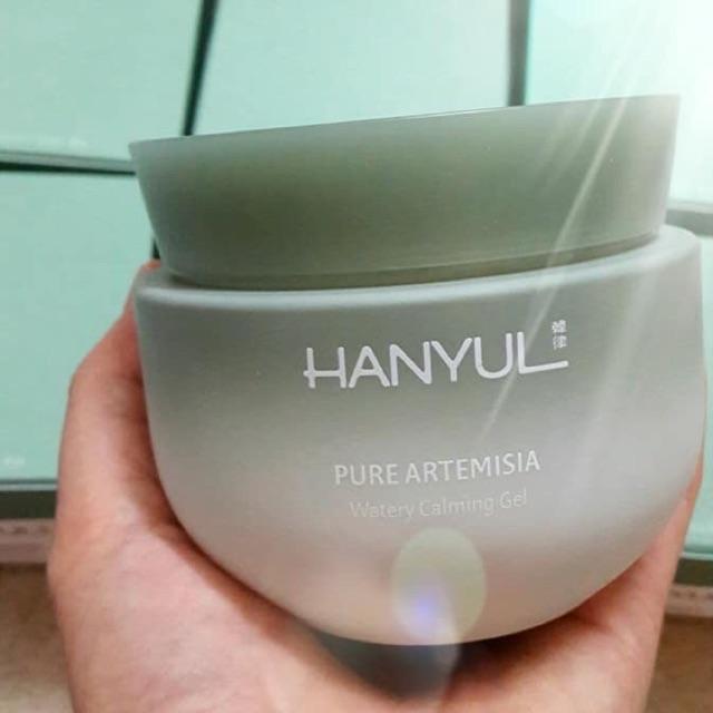 Kem dưỡng ngải cứu Hanyul Watery Calming Gel