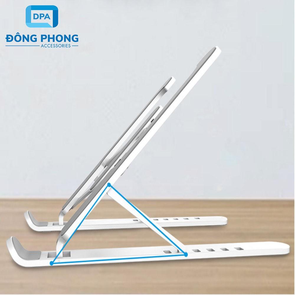 Giá Đỡ Tản Nhiệt Laptop, iPad Xếp Gọn Thông Minh Nhựa Cao Cấp