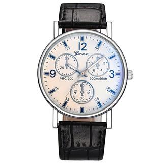 (Giá sỉ) đồng hồ thời trang Geneva nam Dây Da G79