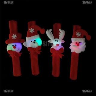 SIYUYAN 1PCS Glowing Christmas Decorations Patting Circle Children New Year Gift [319FA]