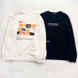 Áo Nỉ Sweater Shin Dáng Rộng Unisex ( Ảnh Thật) thumbnail