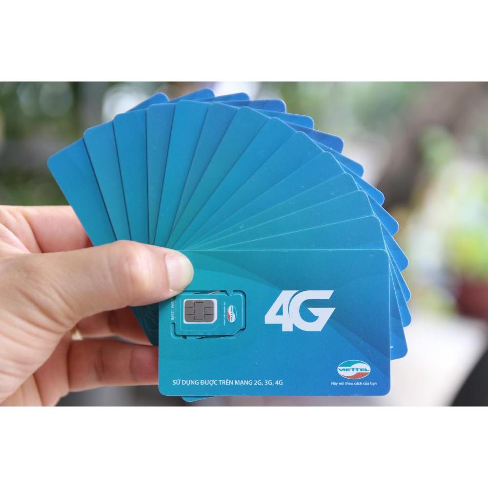 combo 50 Sim Dcom 3G 4G Viettel đa năng,Đăng ký được tất cả các gói cước-Tặng thẻ nhớ 4G tốc độ cao