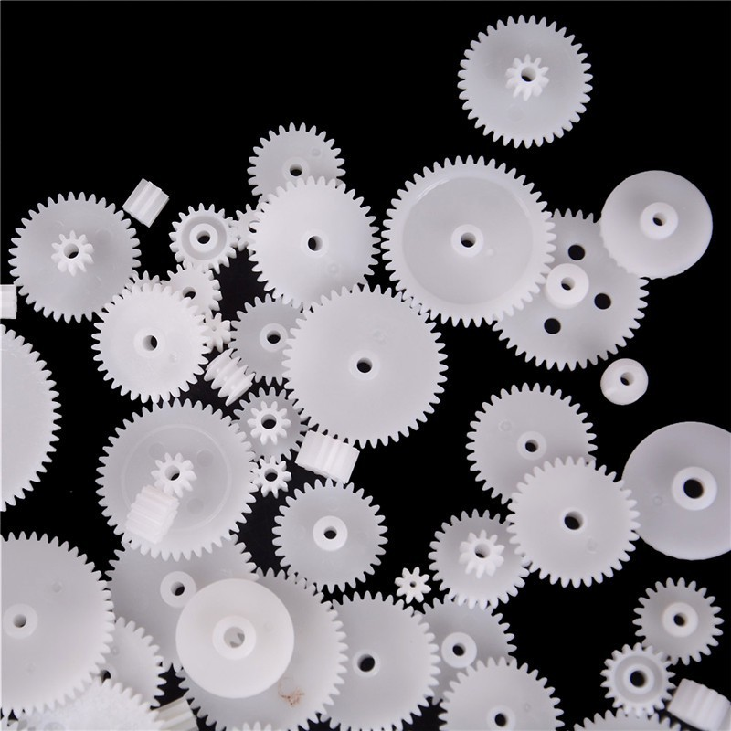 58 styles Toothed Wheels WSFS Gears Plastic All Module 0.5 Robot Parts