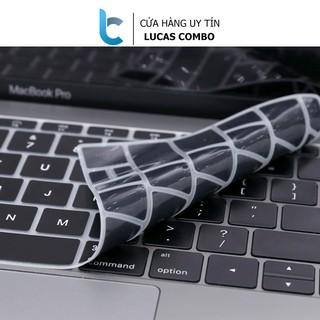 Lót phím đen Silicon bảo vệ bàn phím Macbook thumbnail