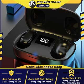 Tai nghe Bluetooth TWS T10 - Kết nối không dây - Nút cảm ứng thông minh - Mic đàm thoại siêu nhạy