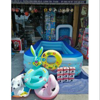 Bể bơi 2 mét 6 tặng trọn 3bô sản phẩm
