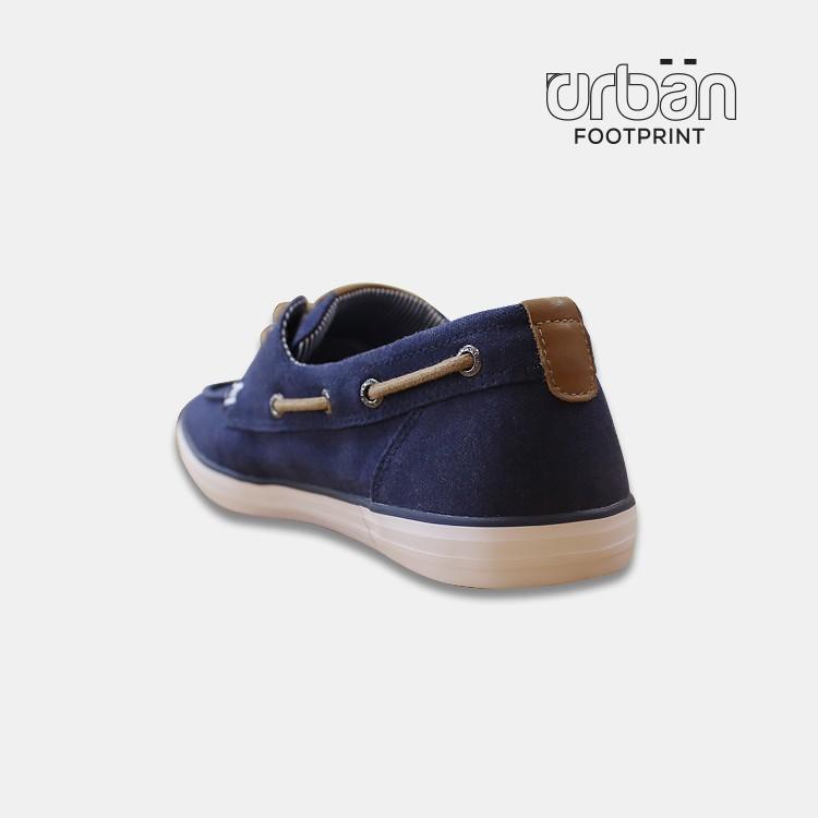 D&A giày slipon nam UM1813 xanh chàm