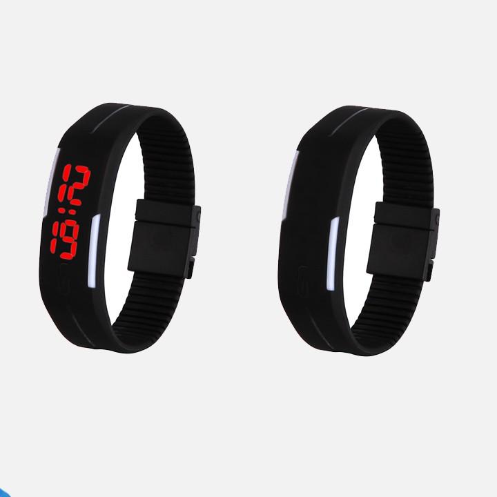 Đồng hồ thể thao silicon