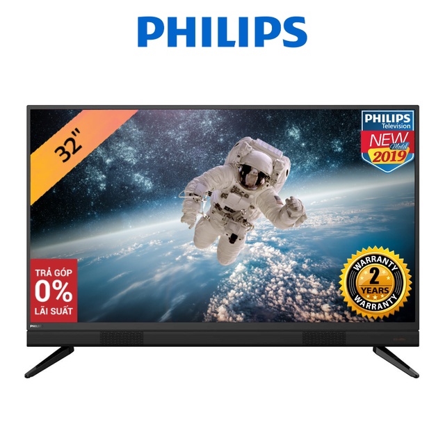 Tivi Philips Led HD 32 Inch- 32PHT55