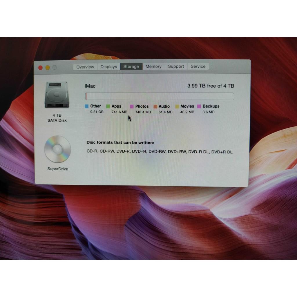Máy tính Apple iMac 21.5' mid 2010 chuyên đồ họa