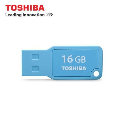 USB 2.0 Toshiba LEADING 16GB (Mini - màu xanh)