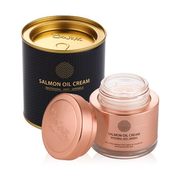 [Hàng chính hãng] Kem dưỡng da cá hồi Salmon oil cream cao cấp