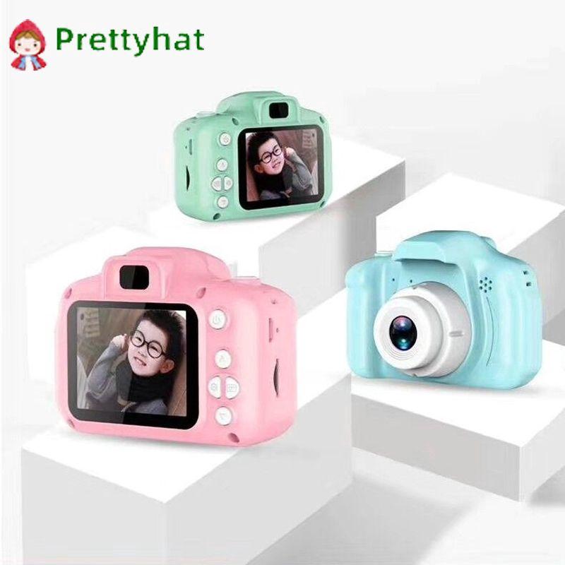 【Ready Stocke】Máy ảnh kỹ thuật số 1080P đồ chơi trẻ em màn hình 2 inch【prettyhat】