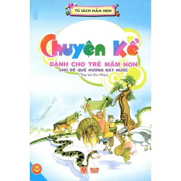 Sách - Tháp bút kim nhan - Chuyện kể dành cho trẻ mầm non