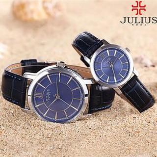 Đồng Hồ Cặp JULIUS JA-808 JU992 (Xanh đen) Cá Tính