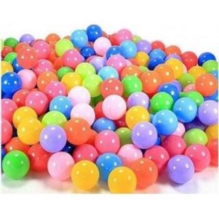 Túi 100 bóng nhựa mềm cho bé chơi