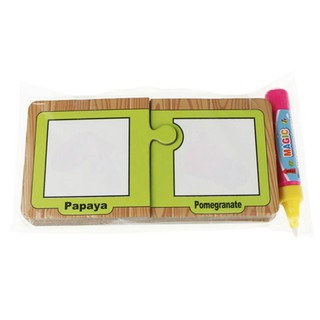 Drawing Graffiti Fruit Card with 1 Magic Pen Cognitive Painting Board