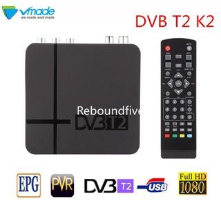 Bộ Thiết Bị Nhận Tín Hiệu Tv Kỹ Thuật Số Dvb T2 K2 Hỗ Trợ Jube Fta H.264 Mpeg-2 / 4 Pvr Hd 1080p Và Phụ Kiện