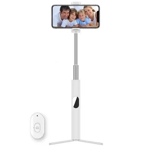 Gậy Chụp Ảnh Selfie Bluetooth Có Remote L02  - Gậy Chụp Hình 3 Chân Tháo Rời Có Điều Khiển Từ Xa